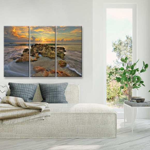 Ready2HangArt 'Spellbound' Oversized 3-Piece Canvas Wall Décor Set by Adam Byerly