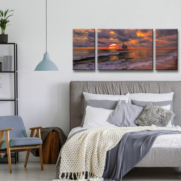 Ready2HangArt 'Seduction' Oversized 3-Piece Canvas Wall Décor Set  by Adam Byerly - 30 x 72