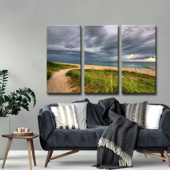 Ready2HangArt 'Wild Allure' Oversized 3-Piece Canvas Wall Décor Set by Adam Byerly