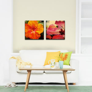 Ready2HangArt 'Tropical Hibiscus' Canvas Wall Art (Set of 2)