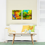 Ready2HangArt 'Tropical Birds of Paradise' 2-piece Canvas Art Set