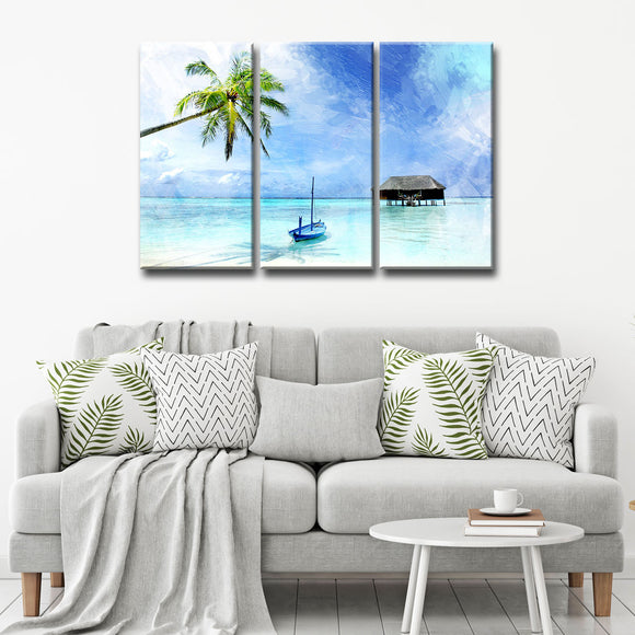 Ready2HangArt 'Tropical' Canvas Wall Art 3-piece Set