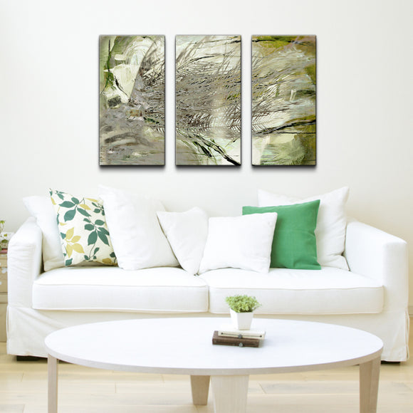 Ready2HangArt 'Abstract Palms' Canvas Wall Art (3-piece)