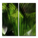 Ready2HangArt 'Abstract Palm Leaves' Oversized Canvas Wall Art (2-piece)