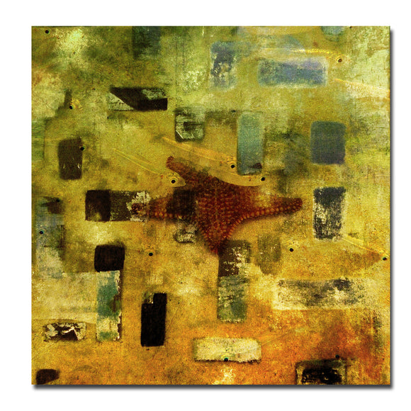 Ready2HangArt 'Abstract Star Fish' Canvas Wall Art