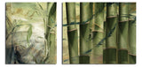 Ready2HangArt 'Bamboo Abstract' Oversized Canvas Wall Art (2-piece)