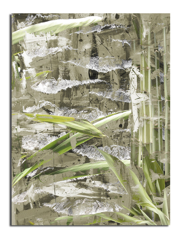 Ready2HangArt 'Bamboo Abstract II' Canvas Wall Art