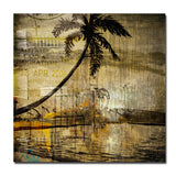 'Seaside Escape' Oversized Canvas Wall Art