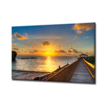 Bruce Bain 'Keys Sunrise' ArtPlexi by Ready2HangArt