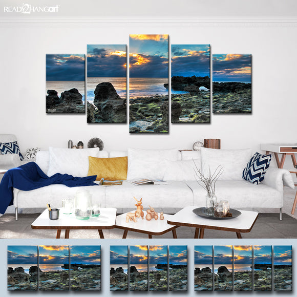 Bruce Bain 'Sun Rise' Canvas Wall Art Set