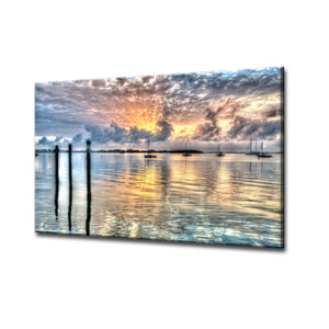 Bruce Bain 'Calm Waters' ArtPlexi by Ready2HangArt