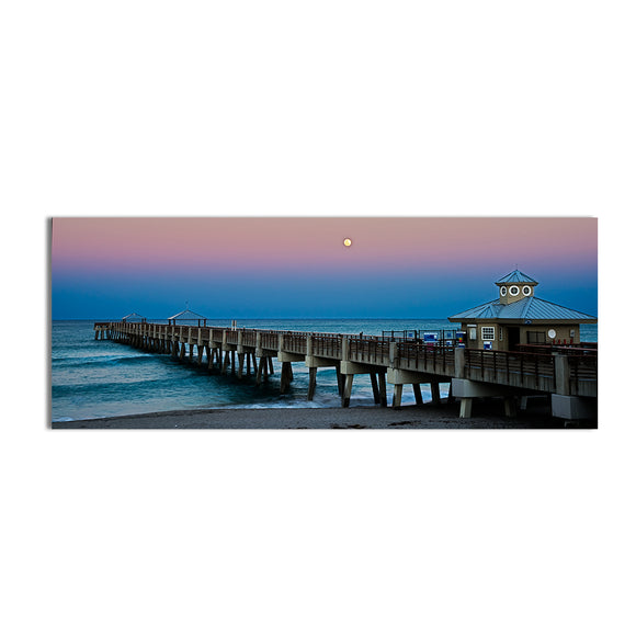 Bruce Bain 'Blue Pier' Canvas Wall Art