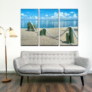 Bruce Bain 'Sail Boats' Canvas Wall Art