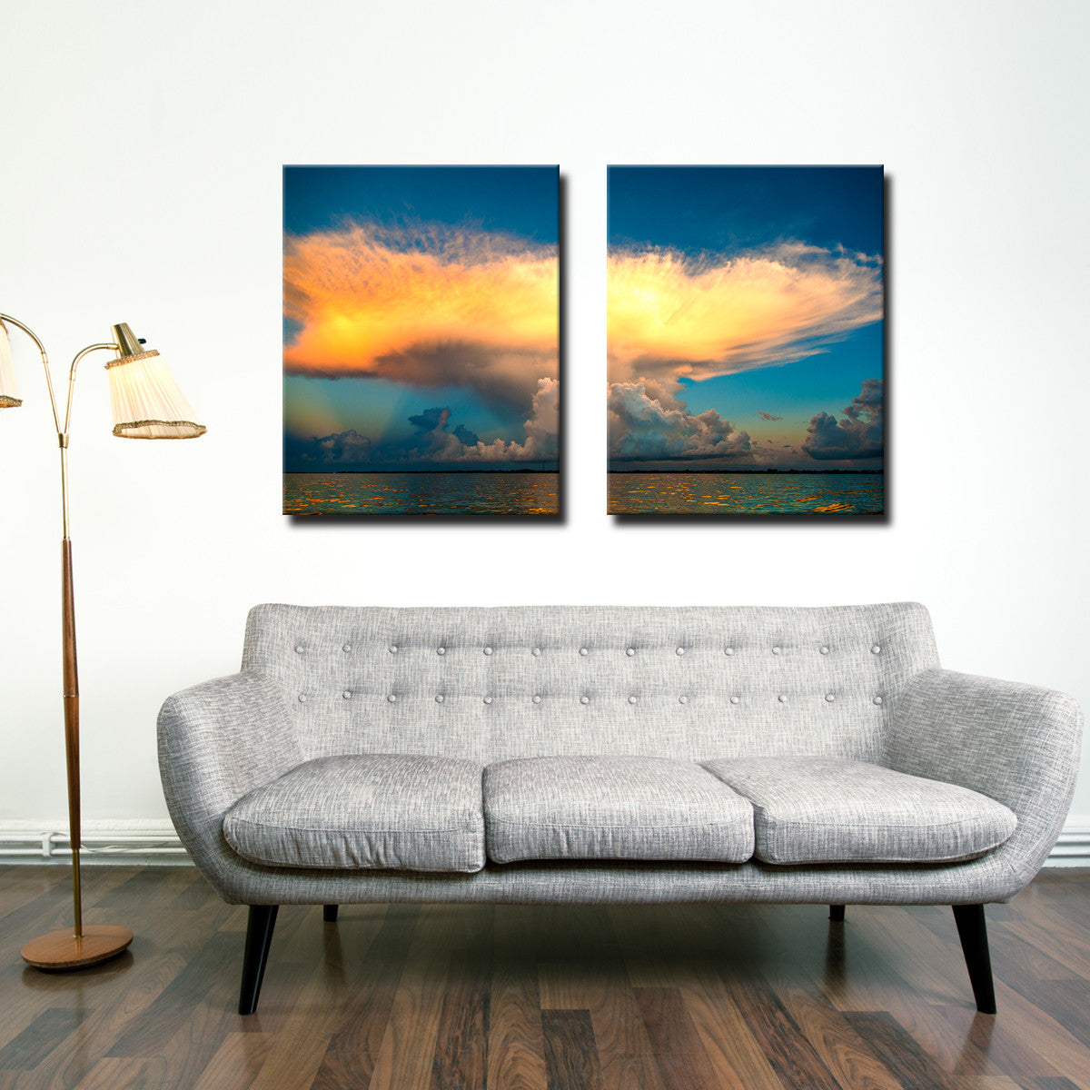 Bruce Bain 'Golden Cloud' Canvas Wall Art