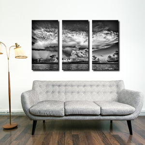 Bruce Bain 'Clouds' Canvas Wall Art