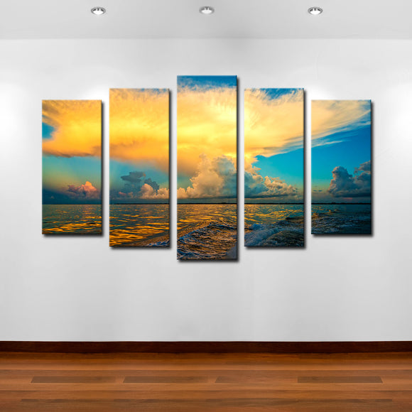 Bruce Bain ''Golden Cloud II' Canvas Wall Art