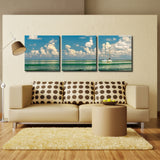 Bruce Bain 'Two Boats' Canvas Wall Art
