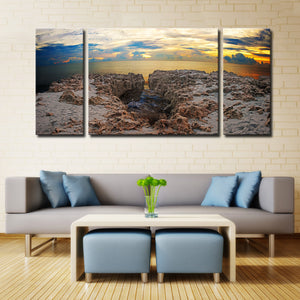 Bruce Bain 'Rocky Horizon' Canvas Wall Art