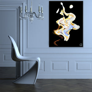 Ready2HangArt Bruce Bain 'Opalescent Abstract I' Canvas Art