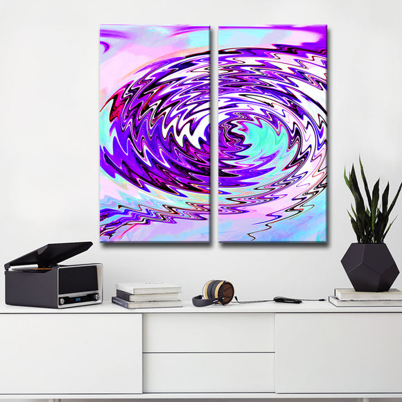 Ready2HangArt Bruce Bain 'Opalescent Abstract III' Canvas Art