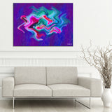 Ready2HangArt Bruce Bain 'Abstract Geo' Canvas Art