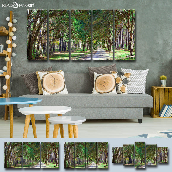Ready2HangArt 'Curious Corridor' 5-pc Canvas Art Set