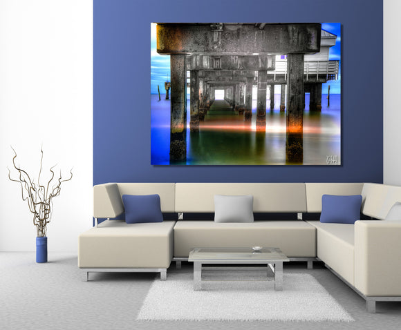Ready2HangArt Bruce Bain 'Cosmic Retreat' Canvas Art