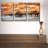 Ready2HangArt Bruce Bain 'Vitality' 3-pc Canvas Art Set