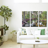 'Afforested' Wrapped Canvas Wall Art