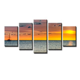 Ready2HangArt Bruce Bain 'Presence' 5-PC Canvas Art Set