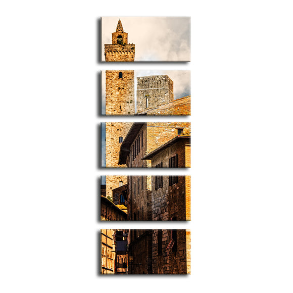 Ready2HangArt Bruce Bain 'Tuscan Architecture IV' 5-PC Canvas Art Set