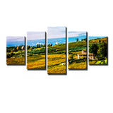 Ready2HangArt Bruce Bain 'Tuscan Landscape V' 5-PC Canvas Art Set