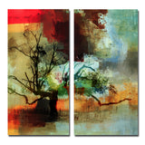 Ready2HangArt 'Abstract Landscape I' Oversized Canvas Wall Art (2-Piece)