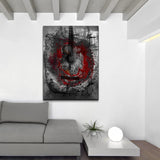 Ready2HangArt 'Acoustic Guitar' Oversized Abstract Canvas Wall Art