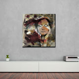 'Abstract Girl 2' Canvas Wall Art