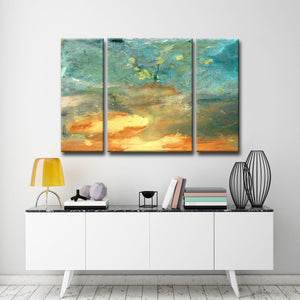 Ready2HangArt 'Abstract Landscape' Canvas Wall Art (3 Piece)