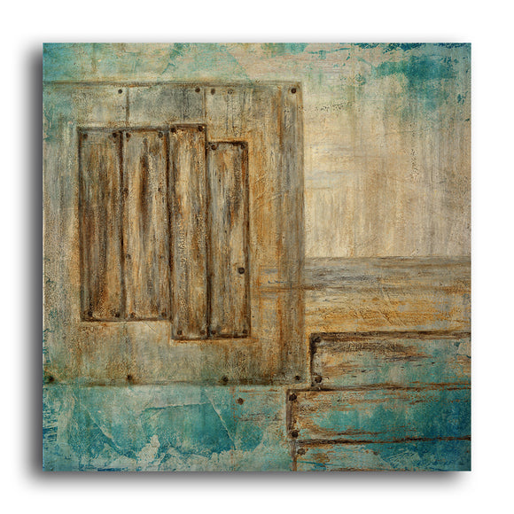 Ready2hangart 'Bueno Exchange XXIII' 30x30-inch Canvas Art Print