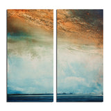 Ready2HangArt 'Abstract Landscape' Canvas Wall Art (2 Piece)