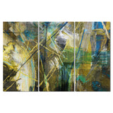 Ready2HangArt 'Bueno Exchange XXXVIII' 20x48-inch Canvas Triptych Art Print