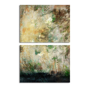 Ready2HangArt 'Bueno Exchange LXVI' 40x60-inch Canvas Diptych Art Print