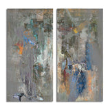 Ready2HangArt 'Bueno Exchange LXVIII' 40x40-inch Canvas Diptych Art Print