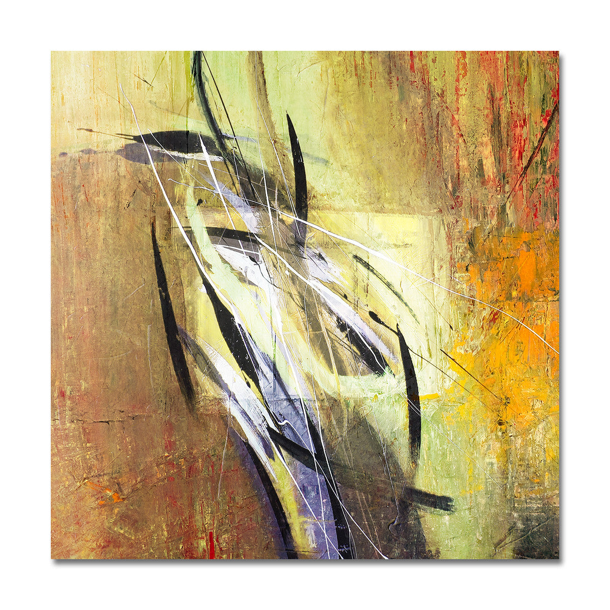 Ready2HangArt 'Bueno Exchange LXXI' 20x20-inch Canvas Art Print