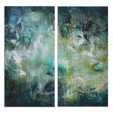 Ready2HangArt 'Bueno Exchange LXX-C' 40x40-inch Canvas Diptych Art Print