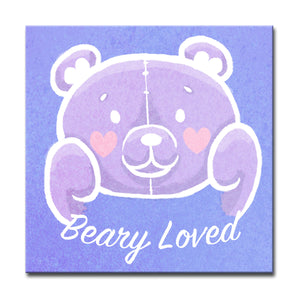 Ready2HangArt 'Beary Loved' Canvas Art