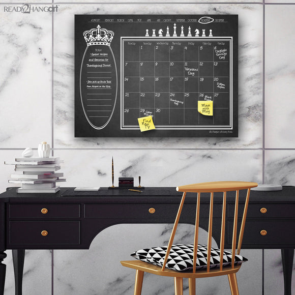 R2H Methods Regal Dry Erase Monthly Calendar on ArtPlexi