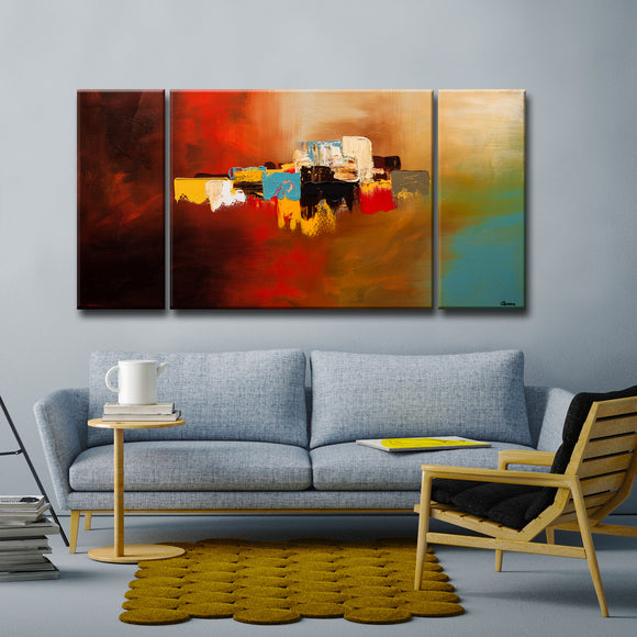 'Du-Soleil' Ready2HangArt Canvas by Cguedez