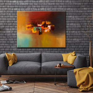 'Imagine' Ready2HangArt Canvas by Cguedez