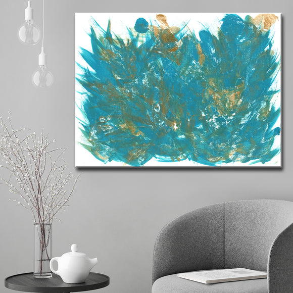 Ready2HangArt 'Feathers' Canvas Wall Décor by Coretta King Johnson