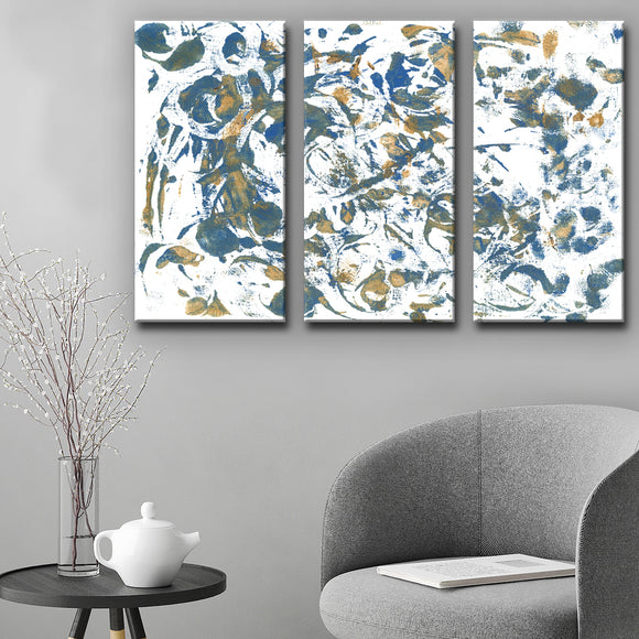 Ready2HangArt 'Rhythm' Wrapped Canvas Art Set by Coretta King Johnson