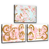 Ready2HangArt 'Dance I-III' Wrapped Canvas Art Set by Coretta King Johnson